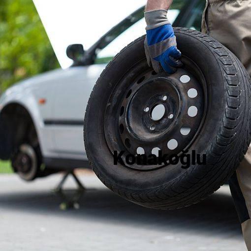Konakoğlu 24 Saat Açık Lastikçi