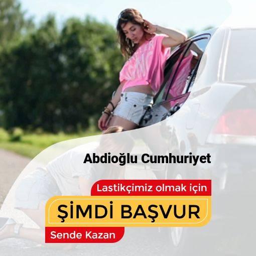 Abdioğlu Cumhuriyet 24 Saat Açık Lastikçi