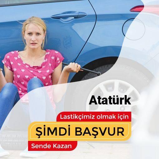 Atatürk 24 Saat Açık Lastikçi