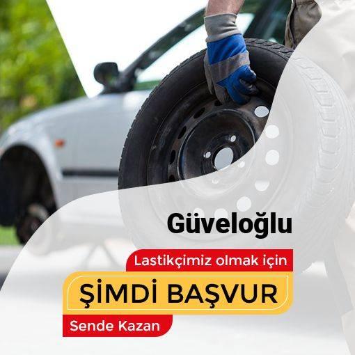 Güveloğlu 24 Saat Açık Lastikçi