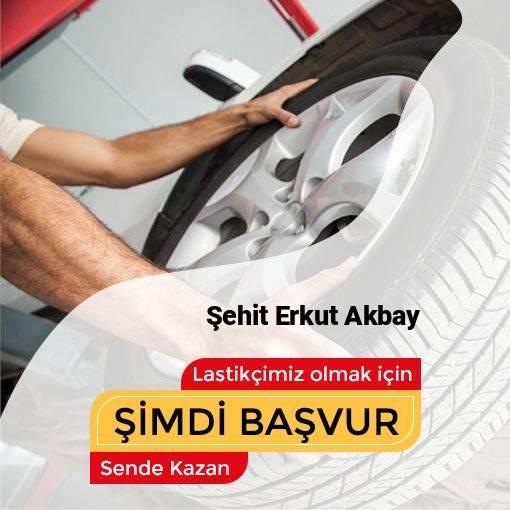 Şehit Erkut Akbay 24 Saat Açık Lastikçi