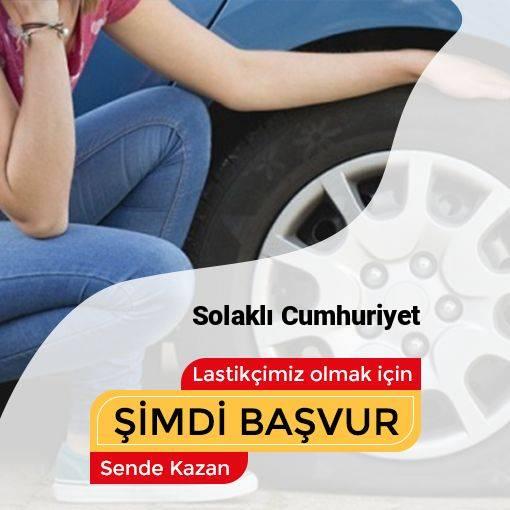 Solaklı Cumhuriyet 24 Saat Açık Lastikçi