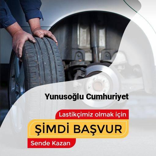 Yunusoğlu Cumhuriyet 24 Saat Açık Lastikçi