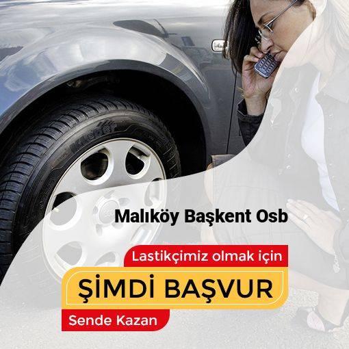 Malıköy Başkent Osb 24 Saat Açık Lastikçi