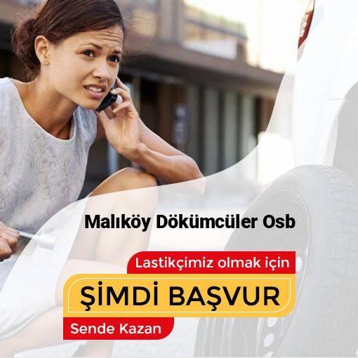Malıköy Dökümcüler Osb 24 Saat Açık Lastikçi