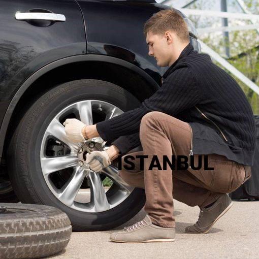 İstanbul 24 Saat Açık Lastikçi