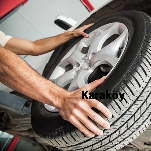 Karaköy Lastik Yol Yardım