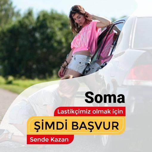 Soma 24 Saat Açık Lastikçi